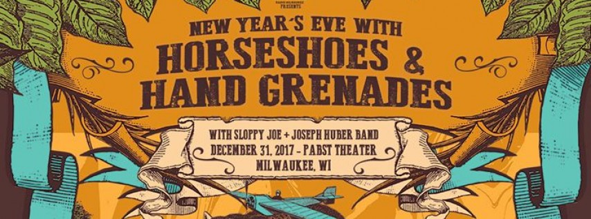 New Year's Eve with Horseshoes & Hand Grenades at the Pabst