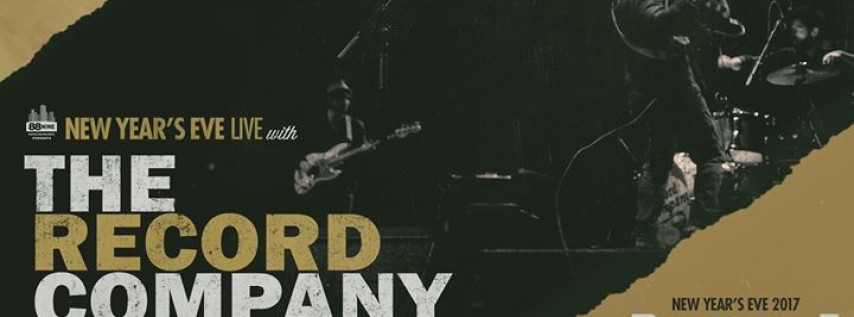 NYE with The Record Company and Field Report - Riverside Theater