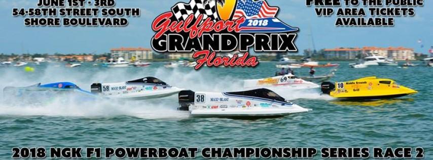 2018 Gulfport Grand Prix & Boat Show