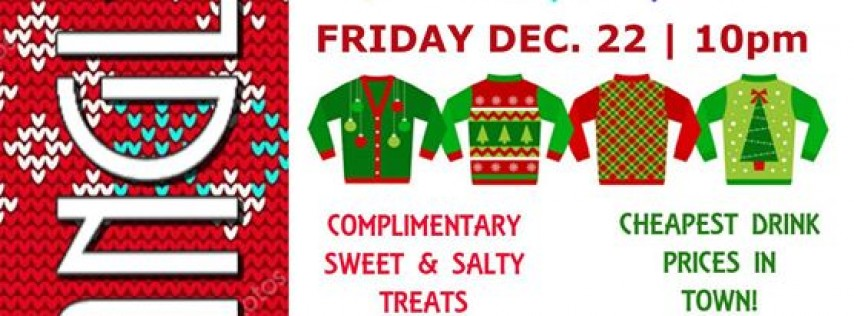 Tryangles Ugly Christmas Sweater Party