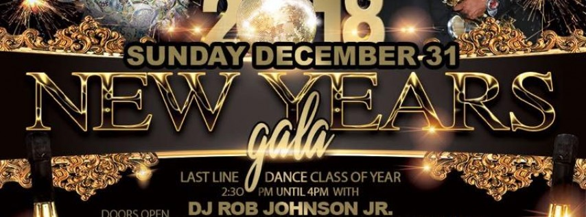 New Years Eve Gala 2018 with National Recording Artist Andre Cavor & Rob Johnson
