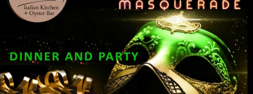 Italian NYE Masquerade Dinner + Party