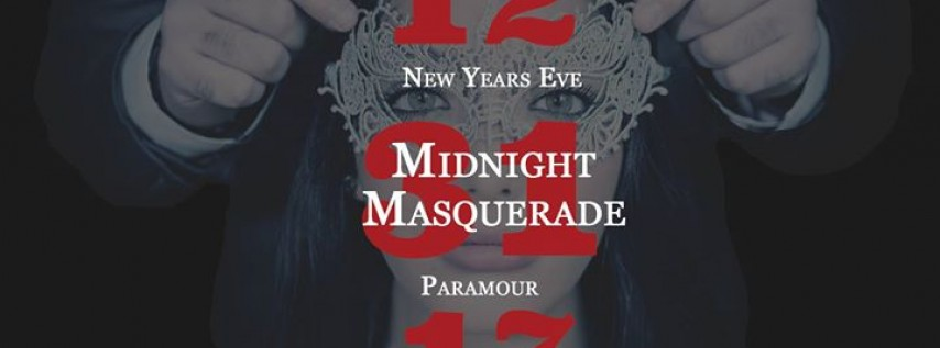 Midnight Masquerade - NYE at Paramour