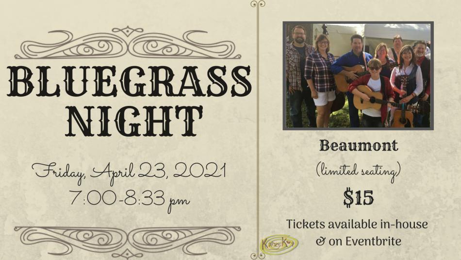 Bluegrass Night featuring Beaumont