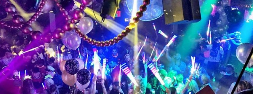 New Year's Eve 2018 Masquerade Ball at Honey Pot! Massive!