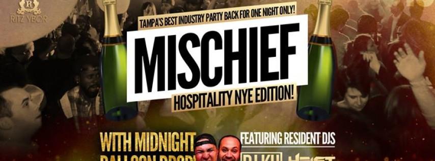 Mischief Mondays – Hospitality NYE Edition – New Year's Day