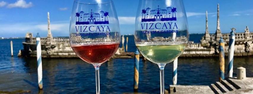 Vizcaya Wine Tasting on the Bay