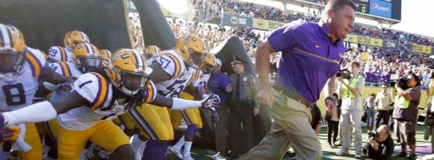 LSU vs Notre Dame Tailgate at The Broken Cauldron Brewery