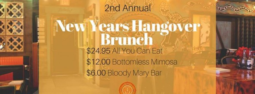 2nd Annual New Years Eve Hangover Brunch