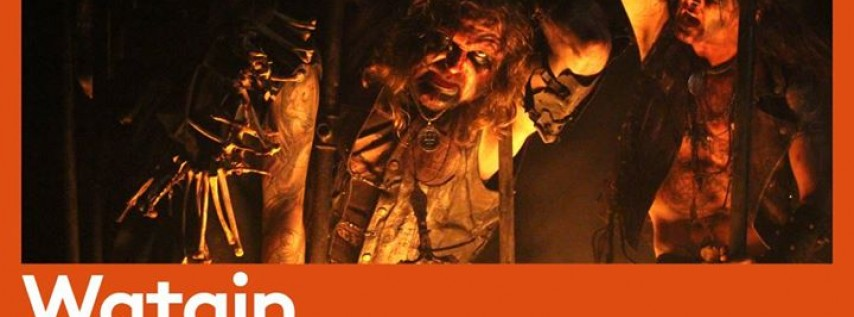 Watain + Destroyer 666 at Barracuda