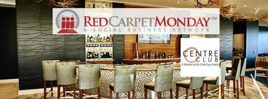 RedCarpetMonday Tampa Business Networking Event at Centre Club