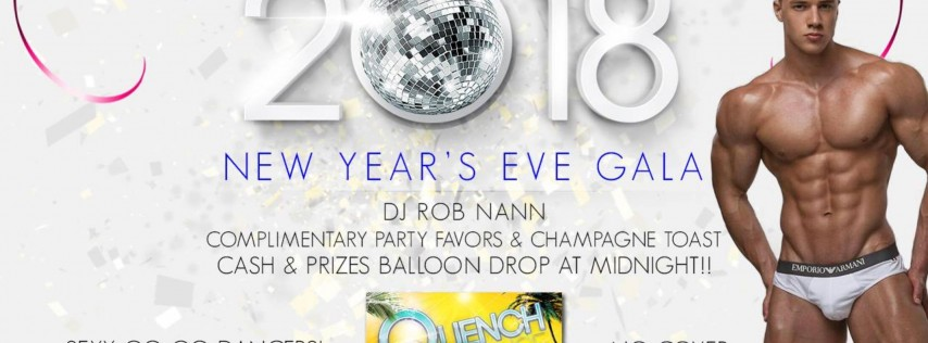 New Year's Eve at Quench Lounge