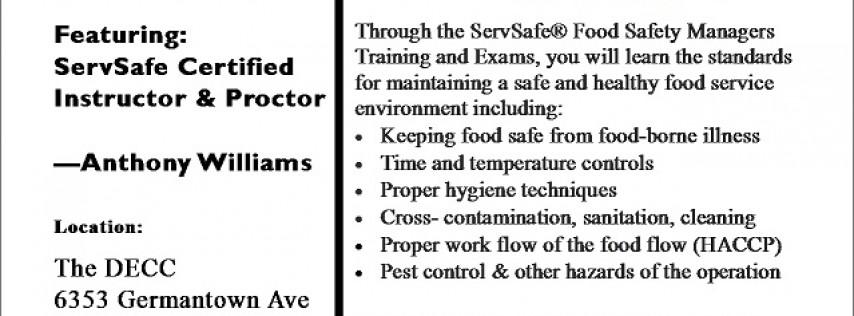 ServSafe Managers Food Safety Training & Exam