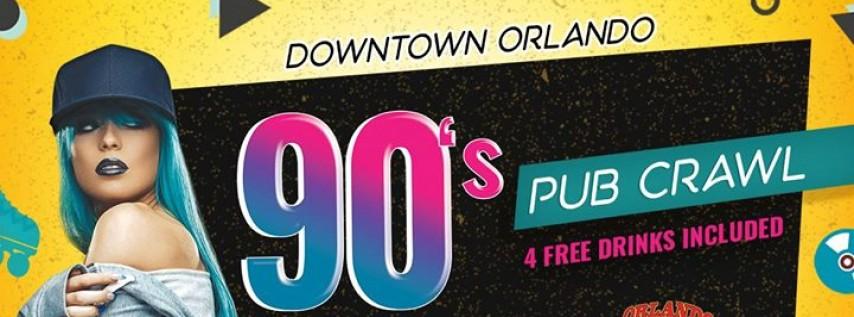 The 90's Pub Crawl