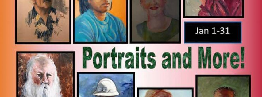 Stirling Art Studios & Gallery Sketch Group Portraits