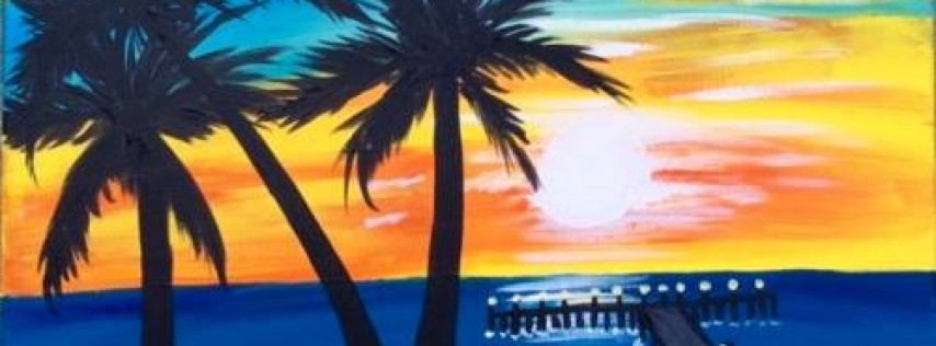 Wine & Canvas Painting Class: Ocean Beach Pier