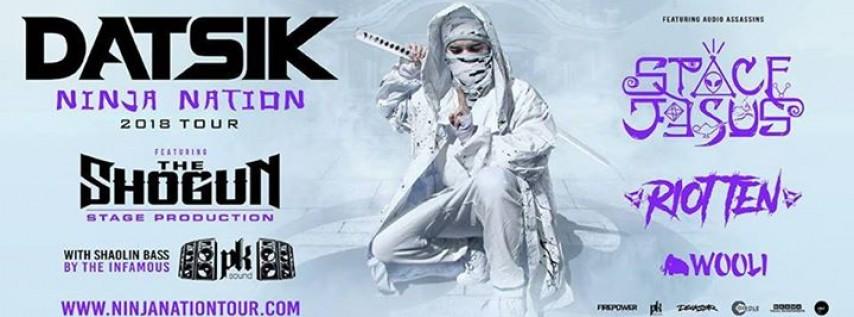 Datsik Ninja Nation Tour 2018 - Knoxville, TN