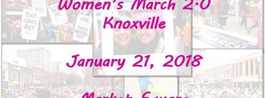 Women's March 2.0 Knoxville