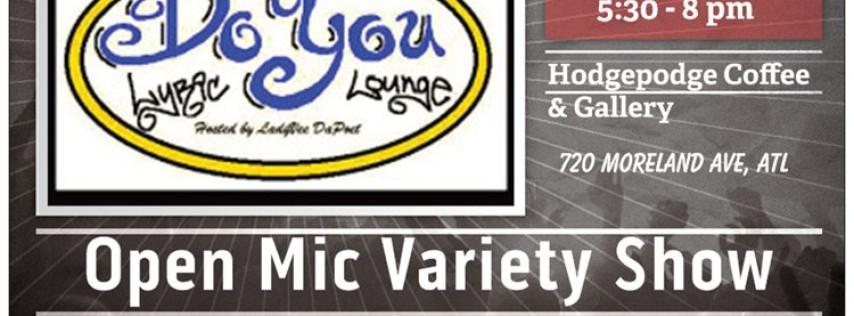 Do You Lyric Lounge: 'Brand, Spankin' New Year Edition'
