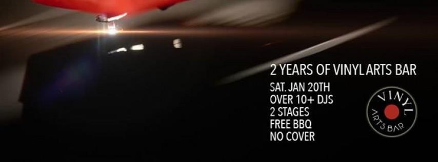 Vinyl Arts Bar 2 Year Anniversary Party