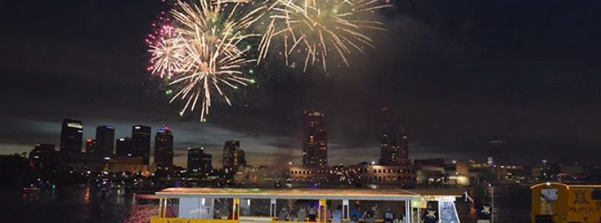 Children's Gasparilla Fireworks Cruise aboard the Pirate Water Taxi