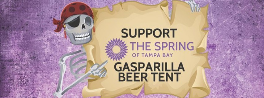 The Spring's Gasparilla Beer Tent