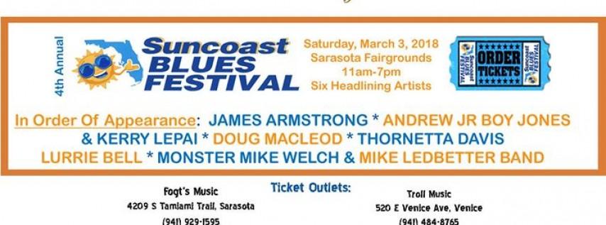 Suncoast Blues Festival - Real Music Fans Love
