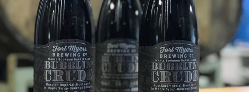 Bottle Release: Maple Syrup-Bourbon Barrel Aged Bubblin' Crude