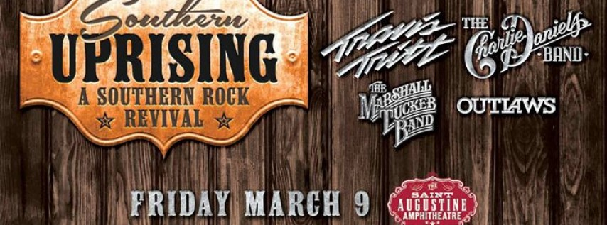 Southern Uprising: Travis Tritt & The Charlie Daniels Band and more