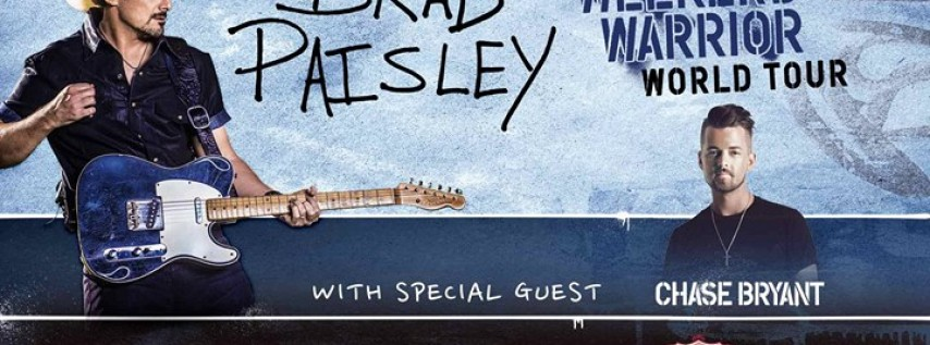 Brad Paisley Weekend Warrior World Tour with guest Chase Bryant