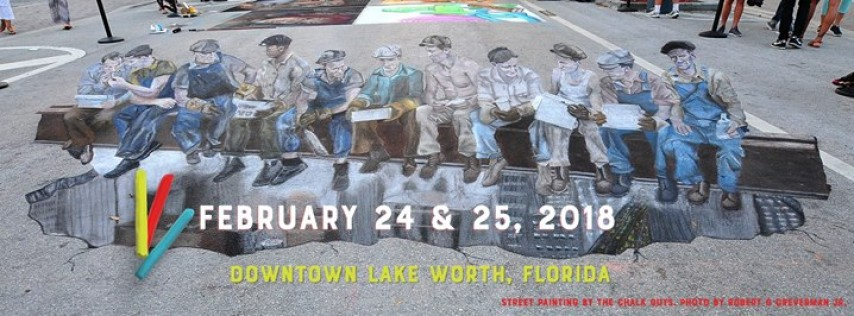 The Lake Worth Street Painting Festival