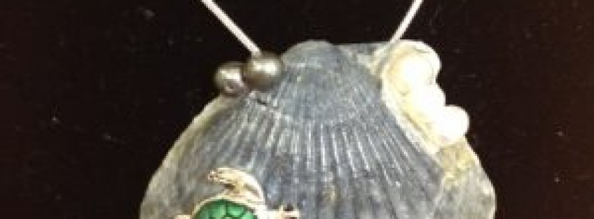 Making Sea Shell Jewelry with Joan Kisner at Studios of Cocoa