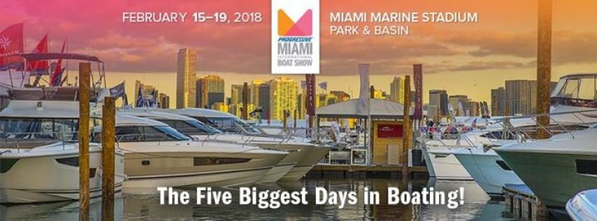 2018 Miami International Boat Show