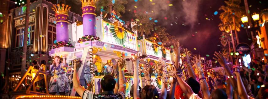 Mardi Gras 2018 at Universal Orlando