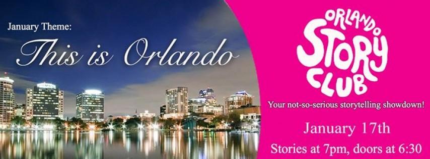 Orlando Story Club - This is Orlando