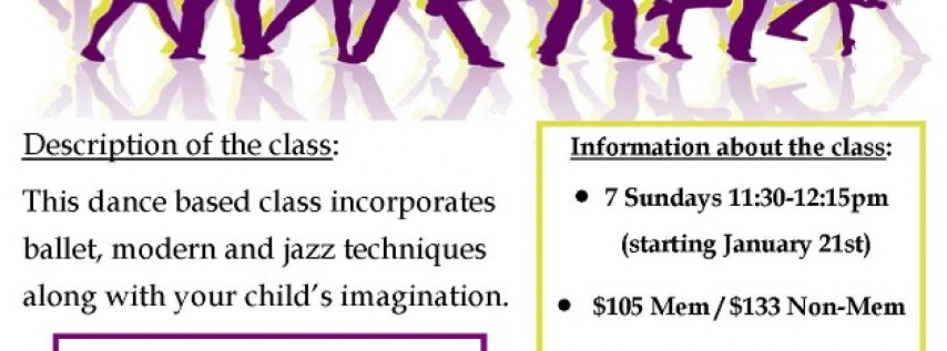 Free Creative Movement Dance Class