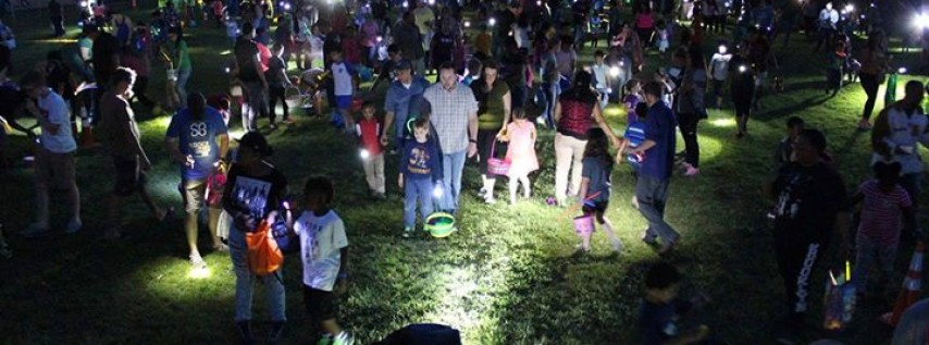 Flashlight Easter Egg Hunt and Movie in the Park