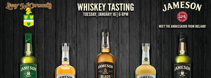 Whiskey Tasting: Jameson & Sons Special Collection