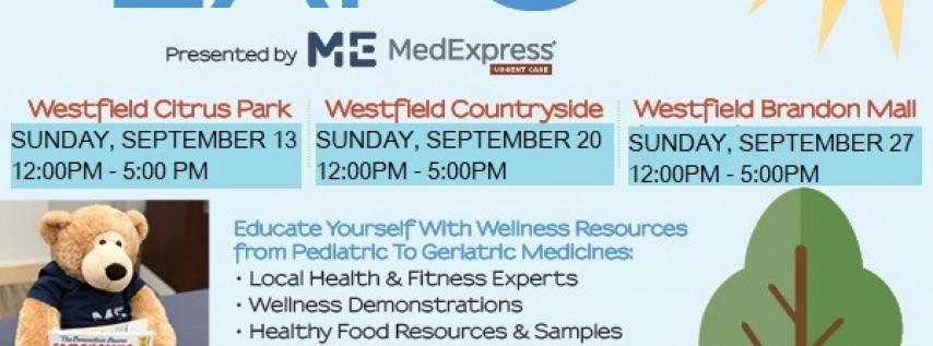 Tampa Bay Wellness Expo @ Westfield Citrus Park