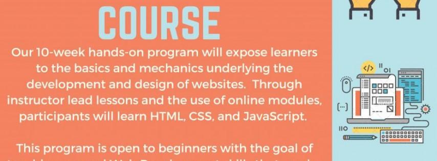 10 week web development course