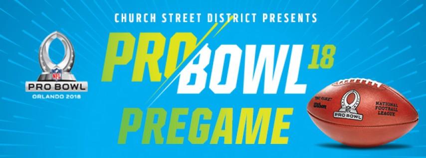 Church Street District NFL PROBOWL PREGAME
