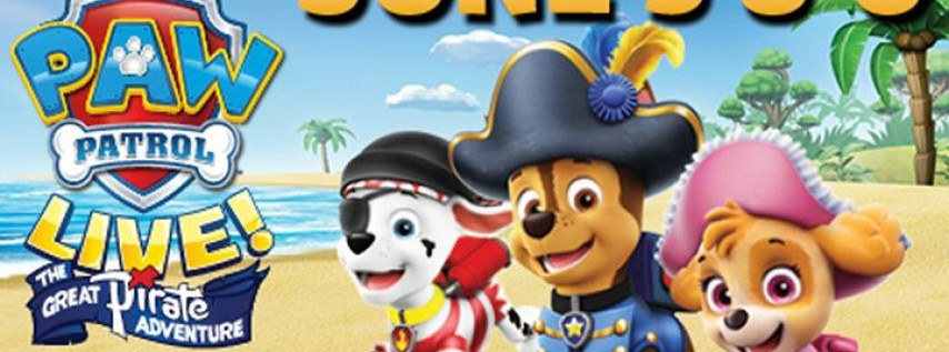 """PAW Patrol Live! The Great Pirate Adventure"""""""