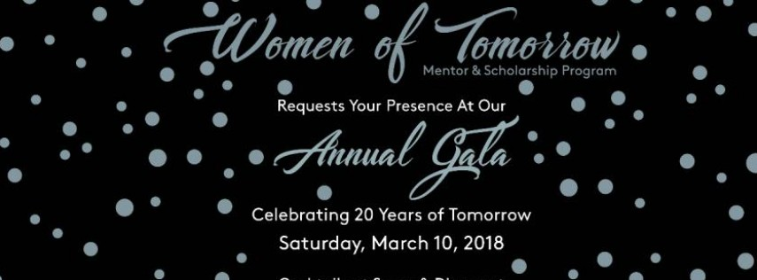 Women of Tomorrow Annual Gala