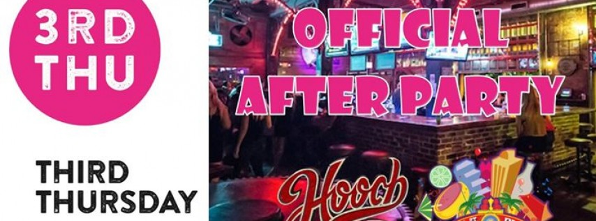 3rd Thursday Gallery Hop After Party at Hooch