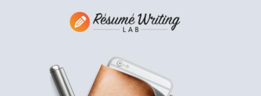 Resume Writing Lab Scholarship Opportunity