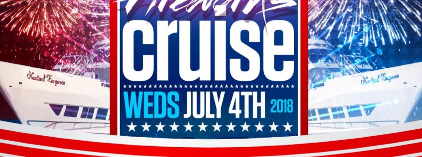 4th of JULY INDEPENDENCE DAY 2018 FAMILY FIREWORKS CRUISE • BROOKLYN, NEW YORK