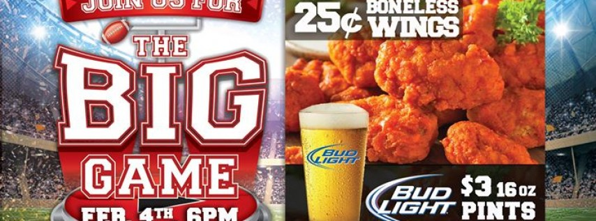Get Your BIG GAME On at GameTime!