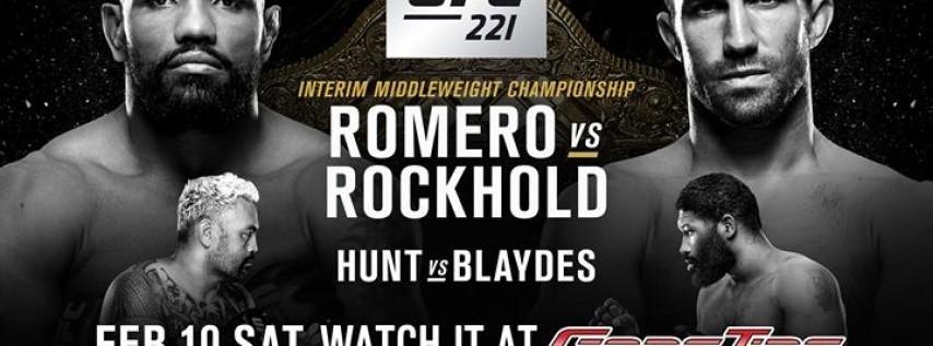 Watch UFC 221 at GameTime!