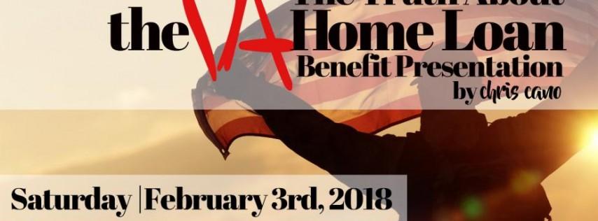 FREE VA Home Loan Seminar