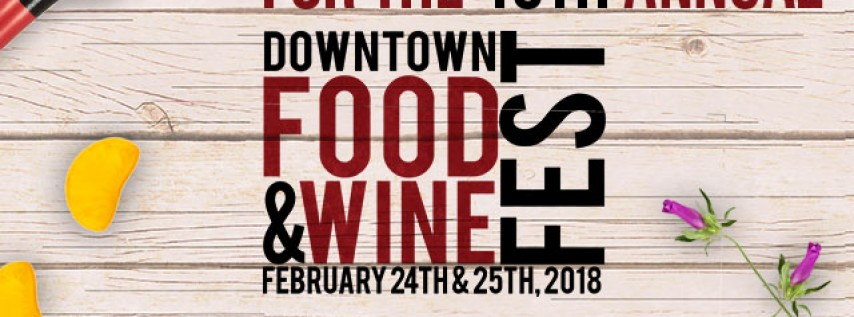 10th Annual Downtown Food & Wine Fest at Lake Eola
